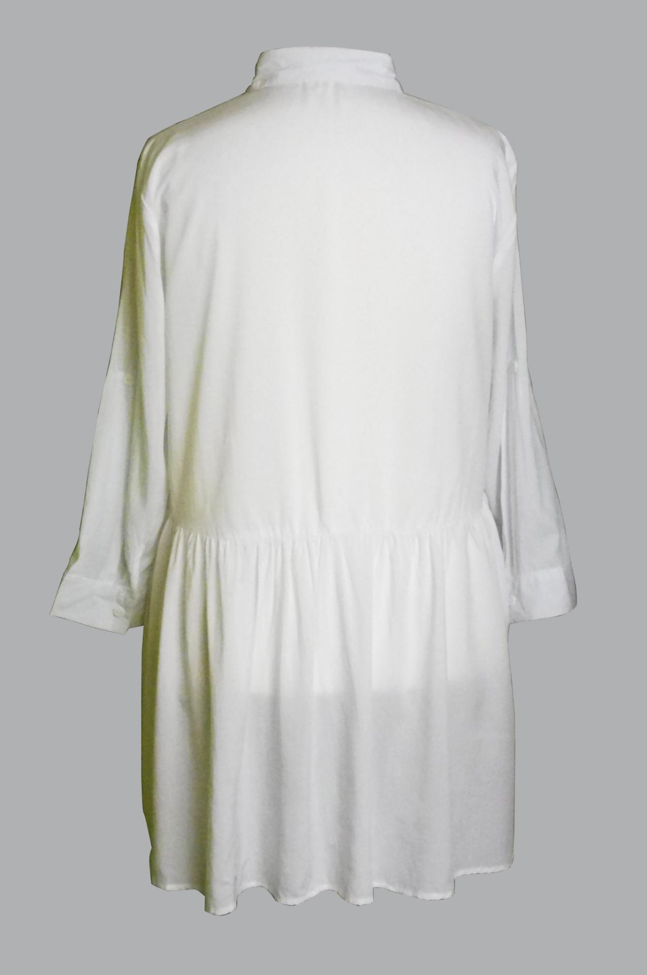 Chemise blanche grande taille