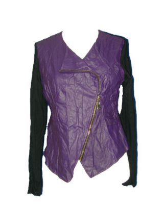 Gilet bicolore fashion