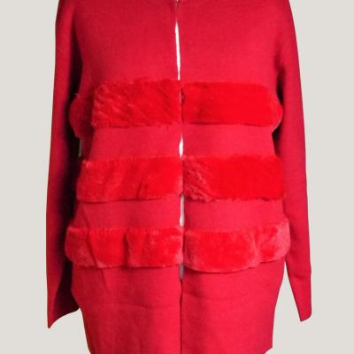 Gilet grande taille rouge