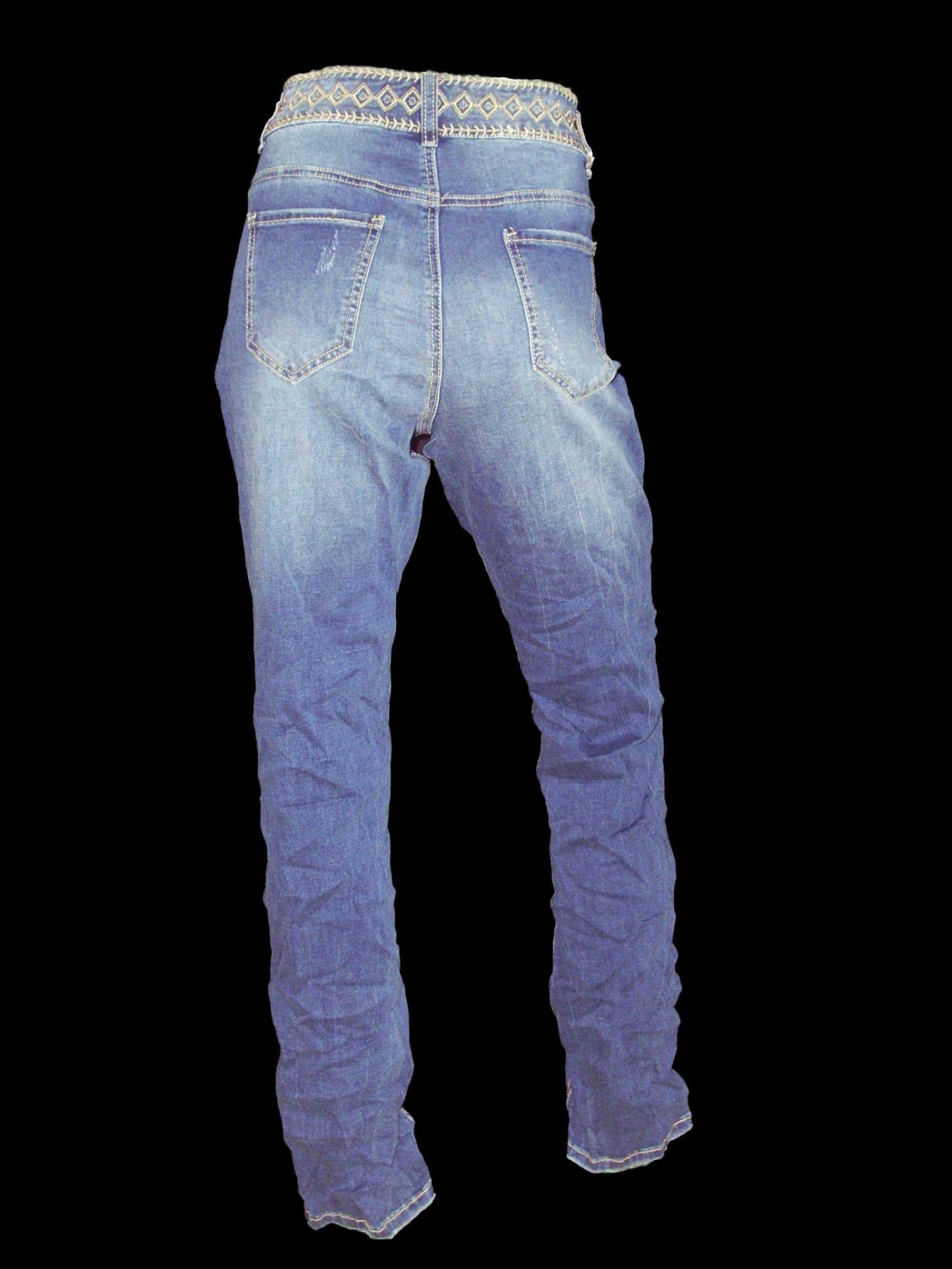 Jean froisse grande taille