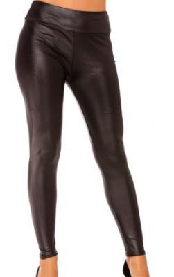 Leggings imitation cuir