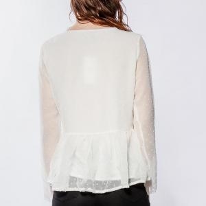 Lilie rose blouse en plumetis1 white 3