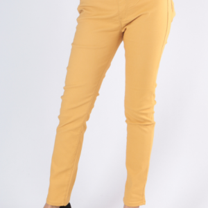 Pant jeggings moutarde