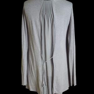 Pull voile gris