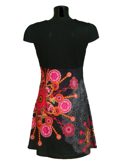 Robe explosion florale 2