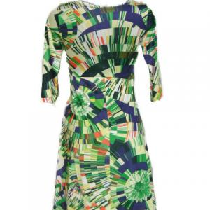 Robe multicolore fluide