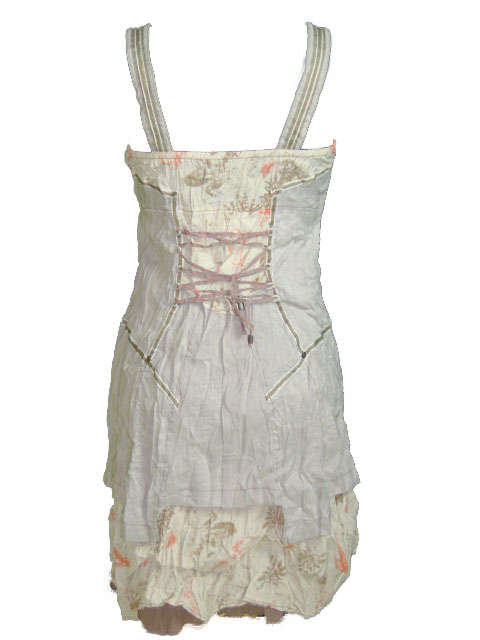 Robe petite taille beige