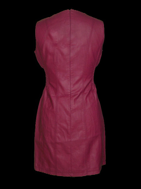 Robe rouge grande taille 1