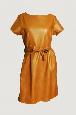 Robe simili camel