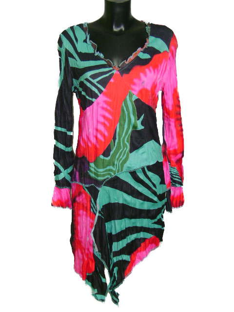 Robe tunique jungle