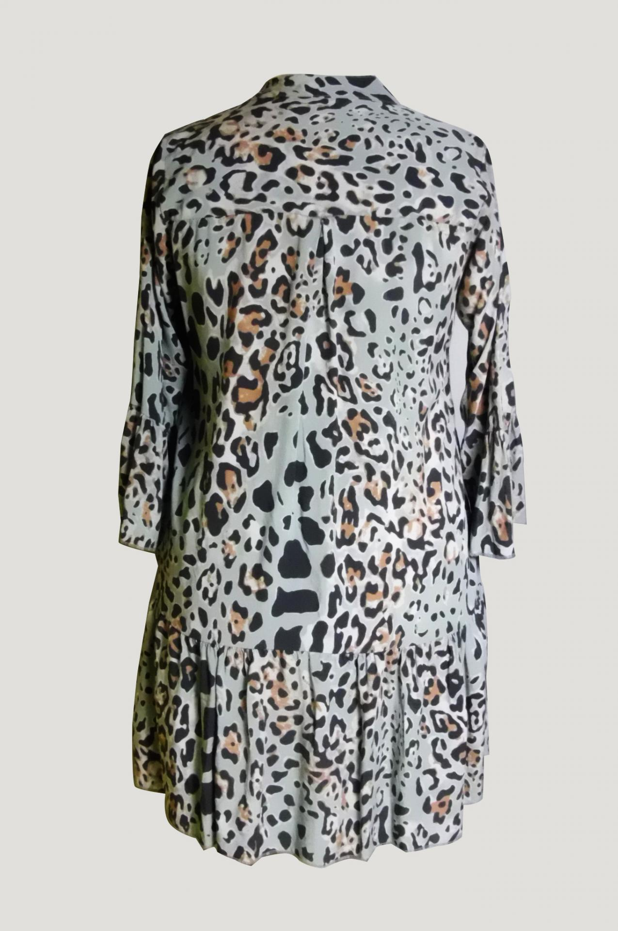 Robe tunique panthere 1