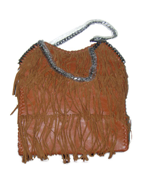 Sac franges camel fashion