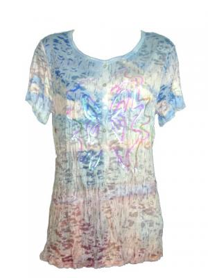 T shirt multicolore papillon