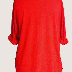 T shirt rouge grande taille