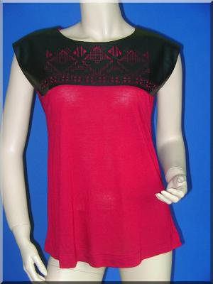 Top plastron rouge