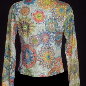 Veste multicolore brillante
