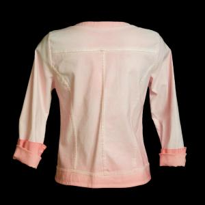 Veste rose ecussons