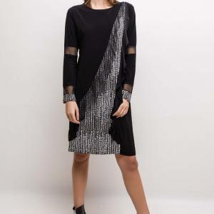 Vetistyle robe brillante1 black 2