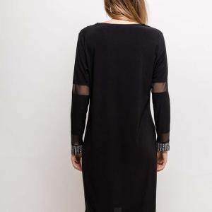 Vetistyle robe brillante1 black 3